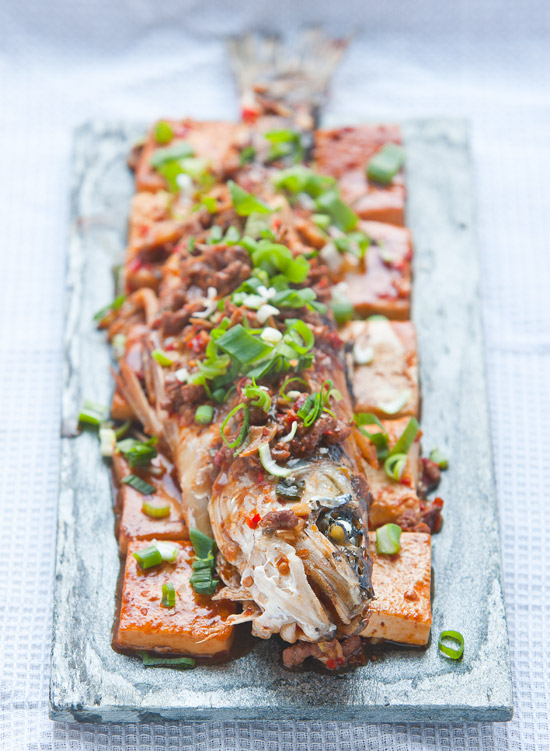 Chili Bean Paste Fish and Tofu