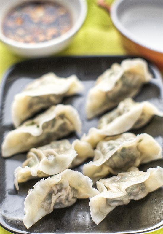 Chinese dumplings shui jiao