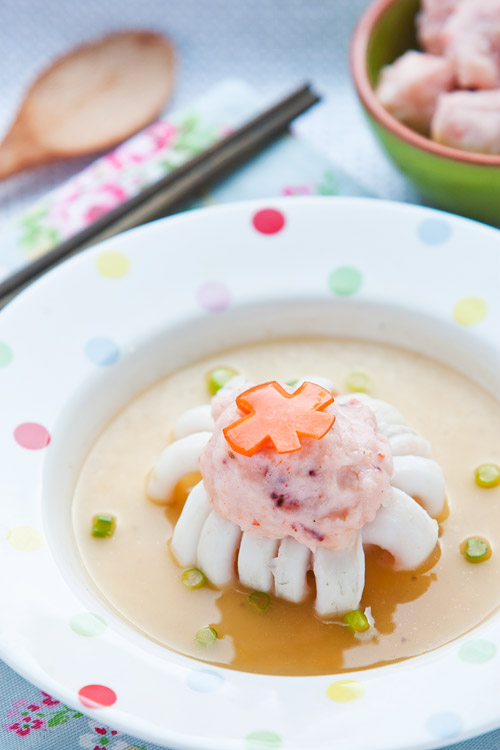 Fortune squid blossom chinese new year dish egg wans food odyssey lucky flower blossom squid forumfinder Images