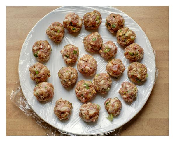 Tang Yuan meatballs