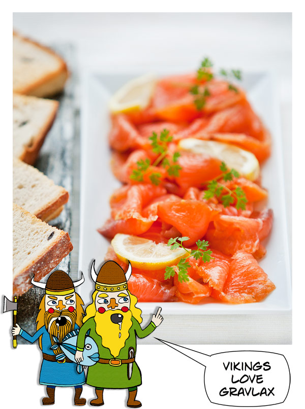 Norweigan Salmon Gravlax recipe