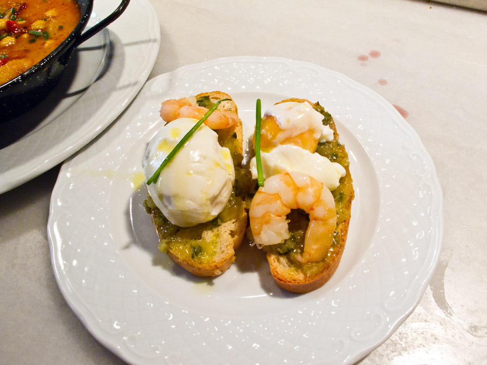 Spanish Chickpea, Chorizo and Prawn Soup Recipe