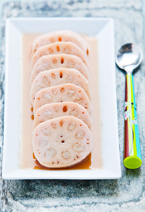Stuffed Lotus Root with Sweet Sticky Rice