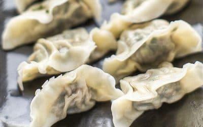 Dumplings shui jiao