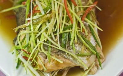 Steamed Lemon Rainbow Trout Recipe
