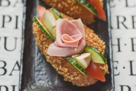 salad boat sandwich recipe