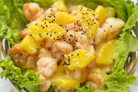 prawn with pineapple recipe