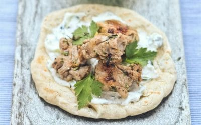 Project Food Blog The Classics, Souvlaki with Tzatzki