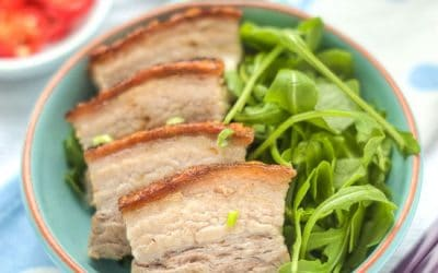 Cantonese Roast Crackling Pork