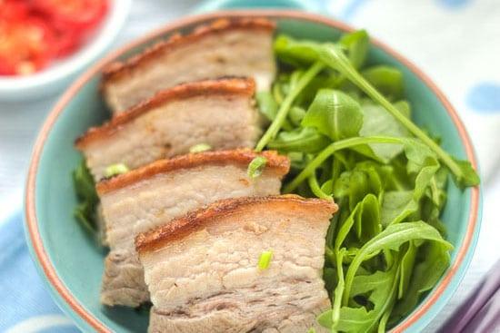 cantonese roast crackling pork