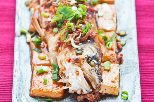 chilli bean paste fish and tofu