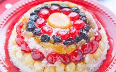 Eight Treasure Rice Pudding Chinese new year dish