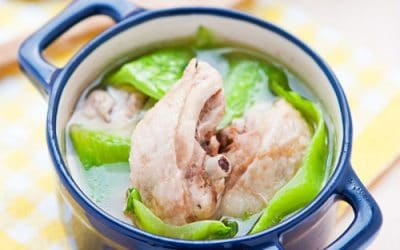 Mustard Green Chicken Soup A Taiwanese New Year Dish