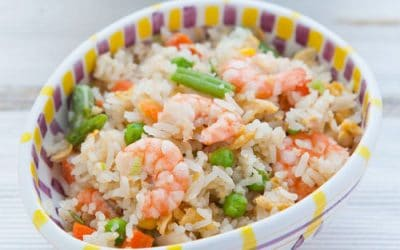 Smoked Haddock and Prawn Fried Rice