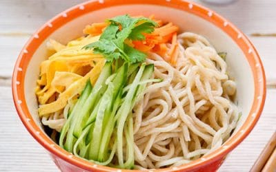 Taiwanese Home Made Noodle Salad Recipe