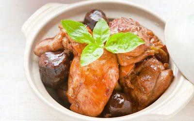 Braised Chinese Chestnut Chicken