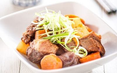 Chinese Daikon Carrot and Tomato Beef Stew