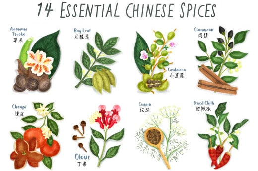chinese spices