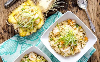Pineapple Prawn Fried Rice