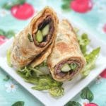 Beef Shank with Spring Onion Pancake Wrap
