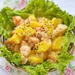 prawn with pineapple