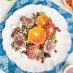 Blood Orange and Seared Tuna Quinoa Salad