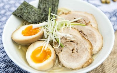 How To Make a Basic Japanese Ramen Noodle Soup